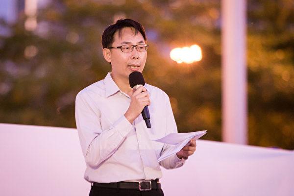全球退黨服務中心台灣義工代表劉秉華,資料照。(陳柏州/大紀元)