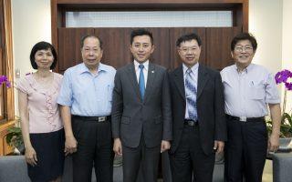 新竹地檢署檢察長拜會市長 宣示廉政決心打擊貪腐