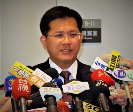 台中市長林佳龍指事件最大輸家是中國,其粗暴作為將留奧運史。