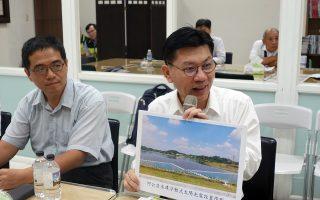 邀台電台水 審慎評估蘭潭水庫建構綠能設施