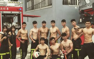 """桃市消防局""""战术体能""""训练室 专业训练体能"""