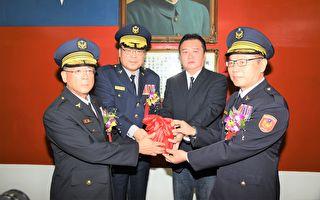 高雄市警察局长  保三总队长李永癸接任
