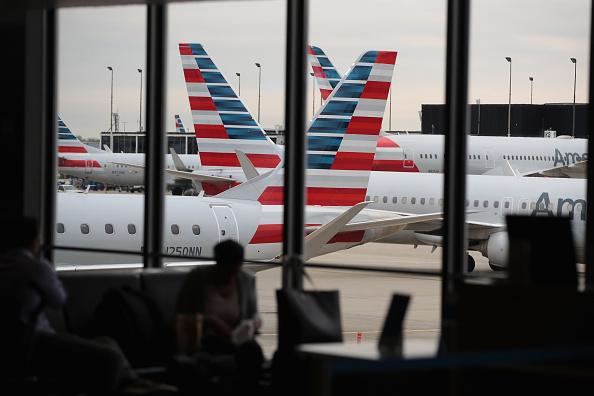 本周三(7月25日)是中共向美聯航、美國航空和達美航空給出的最後期限,中共要求它們改變在網站上對台灣的稱謂。(Getty Images)