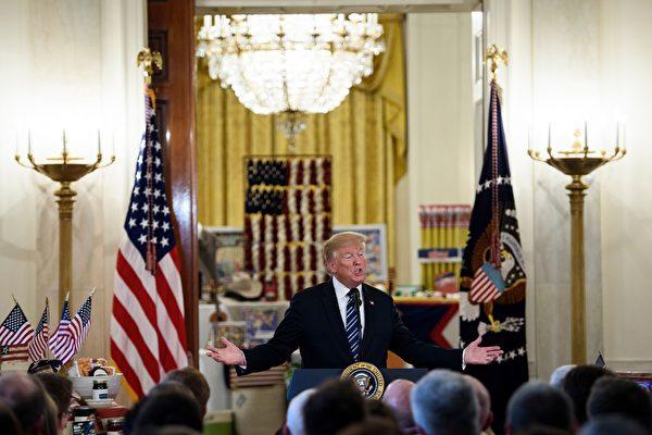 """""""美国制造""""白宫展会 川普:经济正在复兴"""