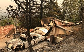 北加州野火悲剧 老妇给曾孙盖湿毯仍难逃死劫