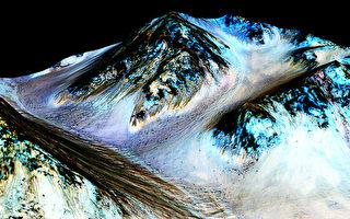 科学家首度发现火星地下液态湖 直径20公里