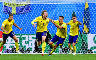 北歐勁旅瑞典1球小勝瑞士 時隔24年再進8強