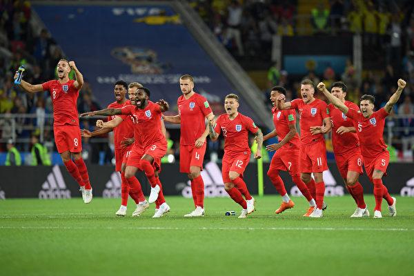 点球大战5:4胜哥伦比亚 英格兰进八强