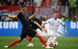 克罗地亚2:1胜英格兰 首次挺进决赛