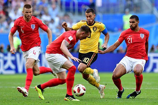 比利時2比0擊敗英格蘭 拿下隊史最佳季軍