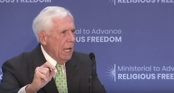 美國宗教自由部長會議 爆中共強摘器官等議題