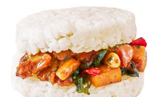 米食主流 OKmart率先推米汉堡