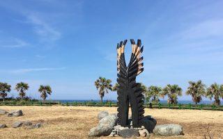 熊鷹翅膀現大武海濱 木雕家籲重視傳統文化