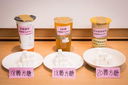 董氏基金会调查发现,手摇饮料糖量超乎想像,以1杯700ml的饮料计,含糖量最高可达91g,几乎是成年人糖摄取上限的2倍。