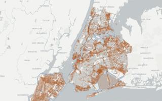 纽约推全新街道地图  见证百年变迁