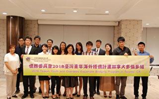 海外搭僑台灣青年訪問多倫多