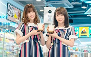 乃木坂46成員訪台 超商吉祥物變粉絲討簽名