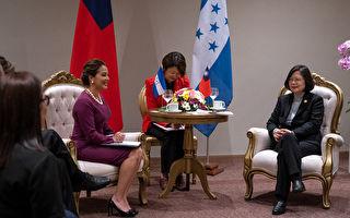蔡英文會晤宏國副總統  談助推廣酪梨和咖啡