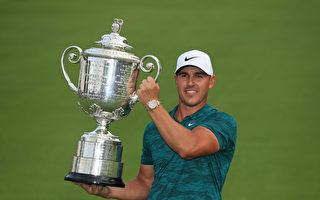 高球PGA锦标赛 科普卡夺今年第二大满贯