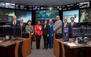 蔡英文首訪NASA  太空專家:彰顯台發展前端科技企圖