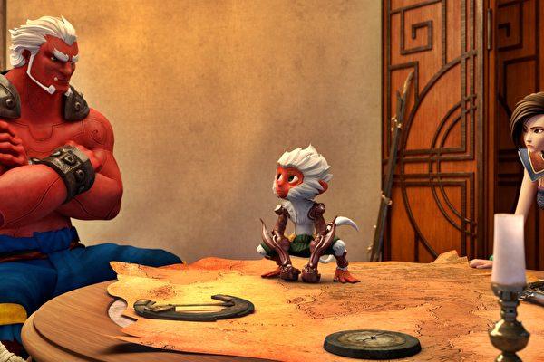泰拳动画玩创意 预告搭霹雳布袋戏配音