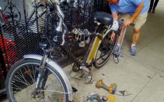 交通局:守交規可減少被罰 電單車先莫改造
