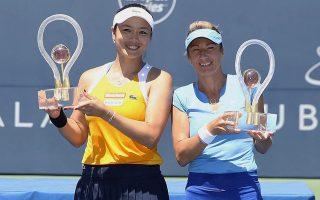 圣荷西网赛詹咏然女双夺冠 重回世界第二
