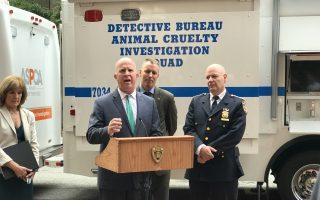 打击虐待动物 纽约市设移动指挥所