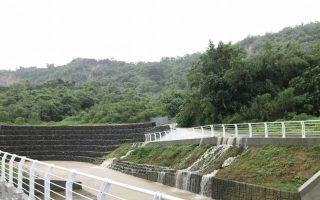 狂雨!未來24小時恐400毫米 滯洪池蓄洪發威