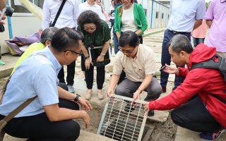 旗山國中組合屋淹水  教育部長允諾專款補助