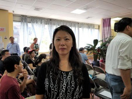 物理治疗师俞婷有两个孩子,放弃暑假休息时间,辛苦补习准备,就是未来想上好学校,所以要争取维持特殊高中学校。