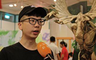 頭份瓦楞紙雕展 勾起愛護動物共鳴
