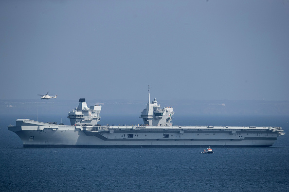 英國新航母造價45億 前往美國跟F-35戰機合體
