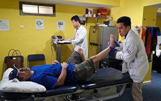 六次物理治療後 腳骨裝鋼釘能走路