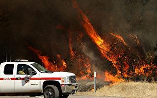 天氣持續乾熱 野火可能失控