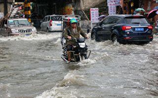 摩羯登陆浙江送巨浪豪雨 三台风围陆 雨不停