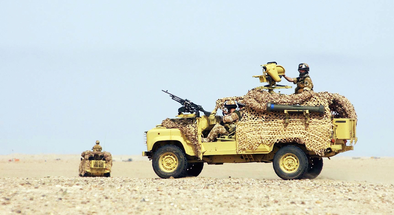 英軍使用重機槍 一槍擊斃2公里外IS指揮官