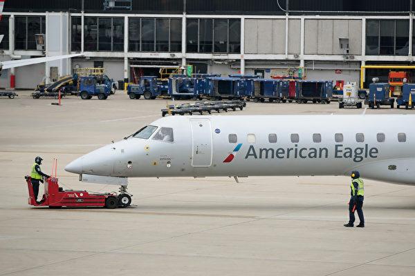 美國航空業國內線很繁忙 中國線賠錢停飛