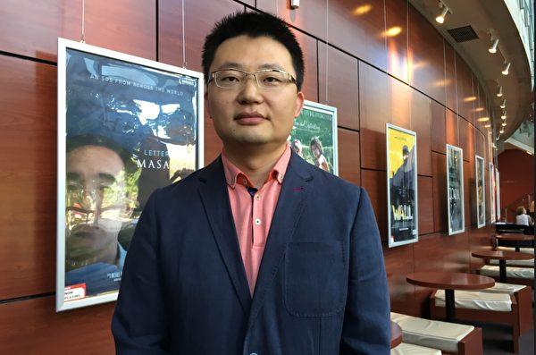 《求救信》导演李云翔。(余天白/大纪元)