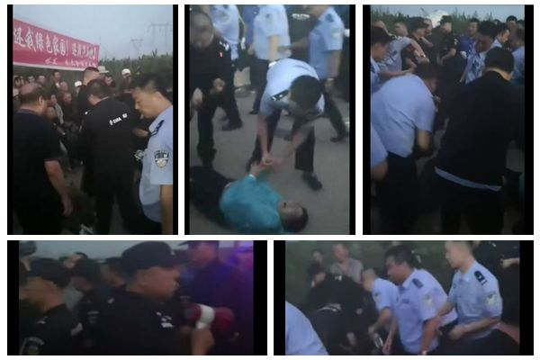 抗议垃圾焚烧发电 哈尔滨数百人堵路遭镇压