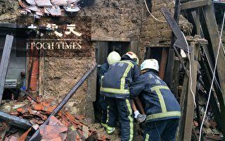 不敌暴雨侵袭 凤山民宅坍塌8旬翁被救出