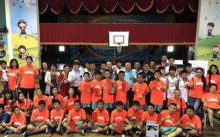 头城篮球小将全国夺冠 镇长曹干舜颁奖表扬