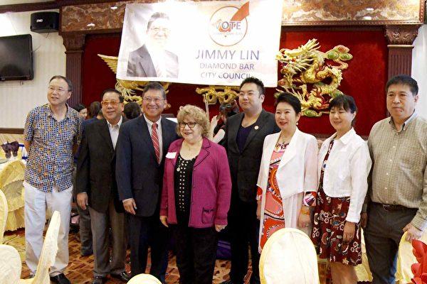 鑽石吧華裔市議員林錫智競選連任