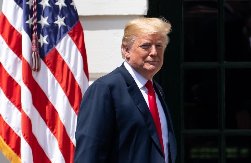 美國媒體引用知情人提供的信息說,美國總統特朗普對中國的貿易戰只不過是「開始的開始」,他跟習近平在G20的會面主要是建立私人關係,而不是貿易會談。圖為美國總統特朗普。(大紀元駐白宮記者Samira Bouaou)
