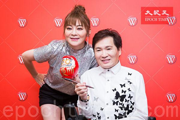 """""""台湾鸭王""""水灾亏800万 王彩桦送礼打气"""