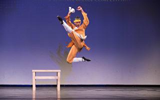 組圖:中國舞大賽 青年男子組金獎選手風采