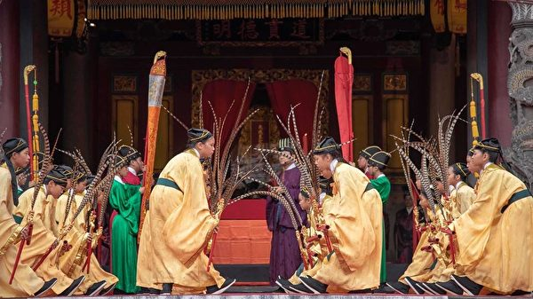 至聖先師孔子2568誕辰 柯文哲遵循古禮祭孔