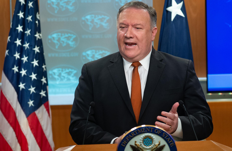 蓬佩奧強烈回應美公民被抓 要求俄更多解釋