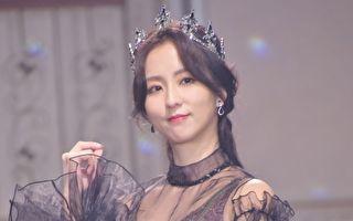 周晓涵9月6日出席品牌发表会。(黄宗茂/大纪元)