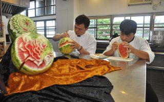 整个暑假不断练习 中州科大国际厨艺赛抱铜牌